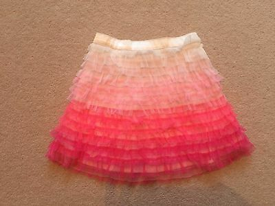 Gorgeous Gap tonal frill skirt in pink, 2 years