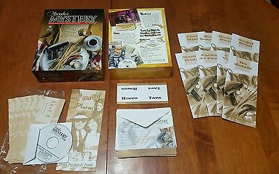 Bepuzzled Murder Mystery Dinner Party Game Pasta, Passion & Pistols open box New