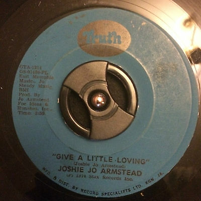"Joshie Jo Armstead - Give A Little Loving 7"" Vinyl Listen"