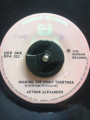 "Arthur Alexander - Sharing The Night Together 7"" Vinyl Listen"
