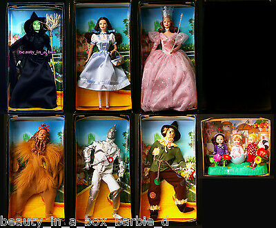 Wizard of Oz Barbie Doll Winkie Guard Wicked Witch Dorothy Munchkins ~ NO BOXES