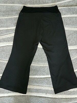 red herring maternity black trousers size 20 work