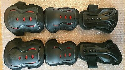 SFR Triple Pad Kids Protection Set. Scooters, Skateboard, Inline & Roller Skates