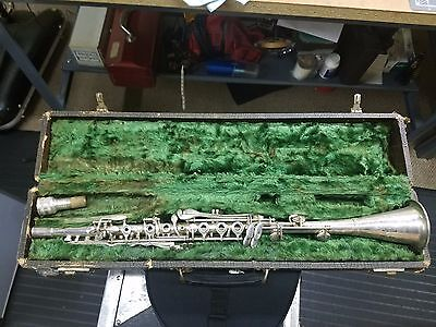 H.N. White Gladiator Metal Clarinet, recently repadded