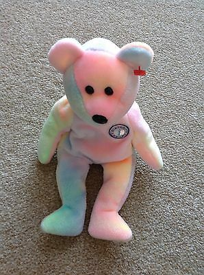TY BB Bear Beanie Baby Without Hanging Tag