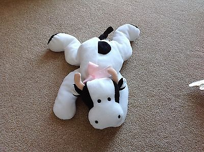 Cow Ty Beanie Buddy Without Hanging Tag