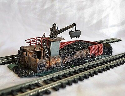 Engine Coaling Station With Crane, Kibri, N Gauge / Scale