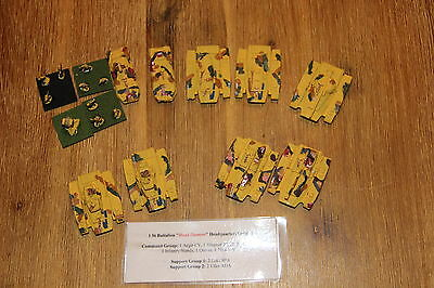 Babylon 5 Miniatures from B5W ACTA **GROPOS Earth Force 1st Bat. Headquarters **