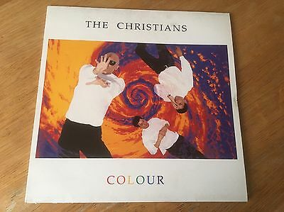 The Christians Colour - vinyl 'this LP has been signed by the band' Island 1990