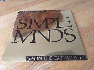 Simple Minds - Alive and Kicking - vinyl - GOLD limited edition - Virgin 1985
