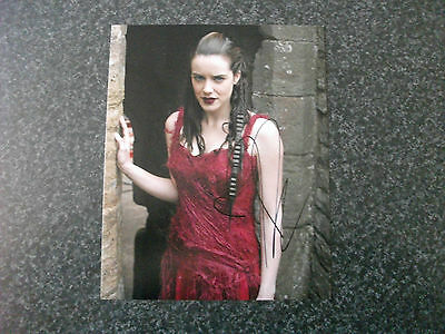 autographed photo of michelle ryan 8x10