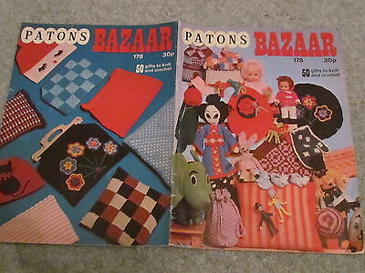 Vintage Patons  Knitting Pattern Bazaar -50 Gifts To Knit & Crochet