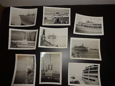 P & O Canberra Photographs c1960s