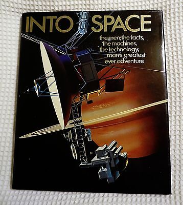 "Book entitled ""Into Space"" – Hardcover, First British Edition"