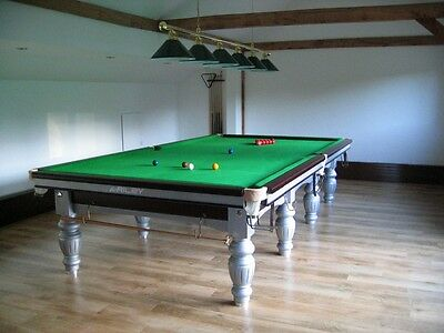 Riley Aristocrat steel block snooker table. Less than 50% Price off new table.
