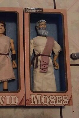 Messengers of Faith One2Believe MOSES Talking Dolls Christian Figure