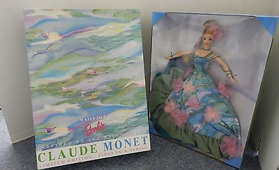 Water Lily Barbie Doll Inspired By Painting Of Claude Monet Limited Edition NEW