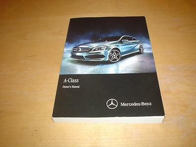 MERCEDES A CLASS W176 A160 A180 A200 A220 A250 CDI SPORT Owners Handbook Manual