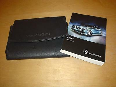 MERCEDES A CLASS W176 160 180 200 220 250 CDI SPORT AMG Owners Handbook Manual