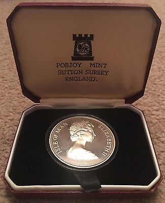 1974 Silver Proof Winston Churchill Centenary Crown Coin