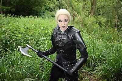 Leather Viking Warlord Armour celtic LARP SCA Armor Halloween GAME OF THRONES
