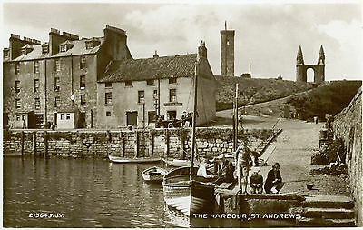 The Harbour St.Andrews  RP - 1931