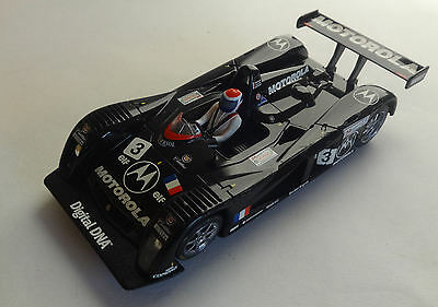 Scalextric C2259 Cadillac LMP with working lights - Very Good Condition