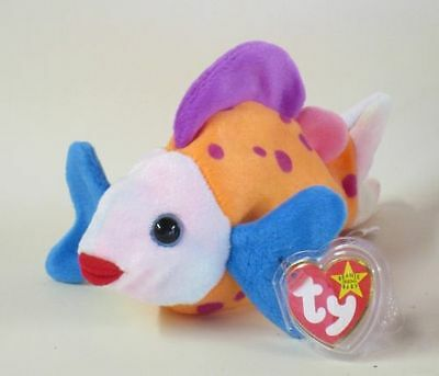 Nwt Ty Beanie Baby Lips The Fish