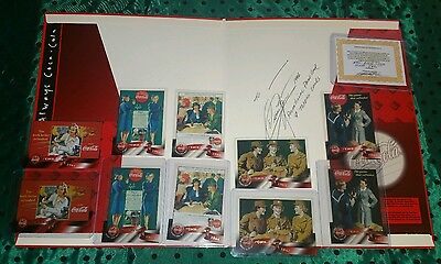5 Gold Cels Women in War WWII COCA-COLA Moffitt Trading Cards Perfect Gift w/COA