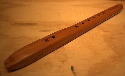 Hand Carved Native American Flute by Jonah Thompson 24""