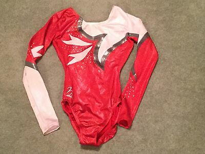 Milano Gymnastics Leotard Size 30 (9-10 Years)
