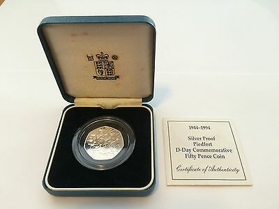 1994 Piedfort 50p Silver Proof