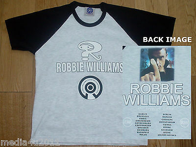 Robbie Williams Intensive Care 2006 Concert Tour Age 9-10 T Shirt New