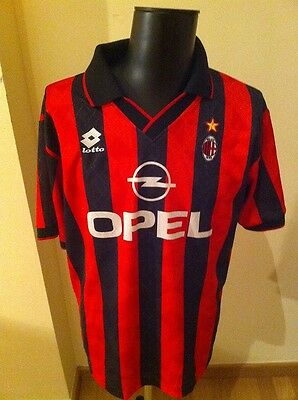 Camiseta Shirt Vintage Ac Milan Lotto