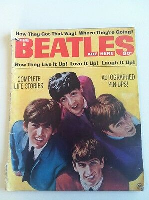 The Beatles Are Here Magazine Dated 1964