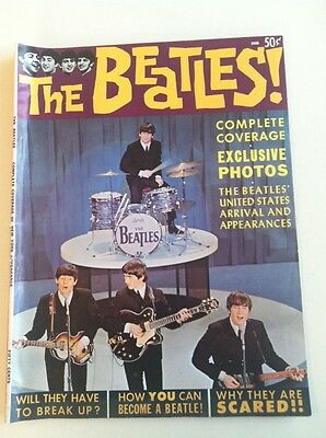 The Beatles! Complete Coverage Of New York Appearance, Dated 1964