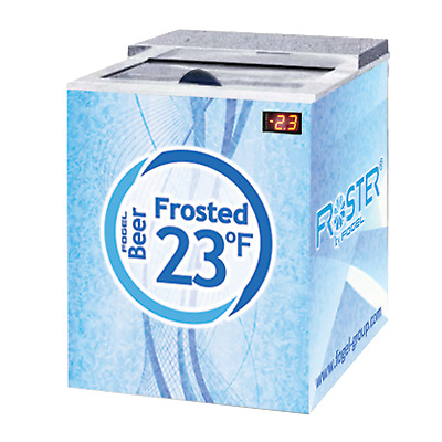 Fogel Horizontal Beer Froster 1-section 5 cu. ft. - FROSTER-B-25-US