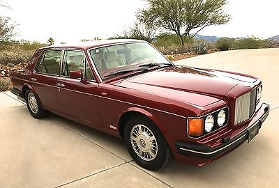 "1995 Bentley Turbo R  1995 Bentley Turbo R - Time Capsule ""Less than 6K Miles!"""