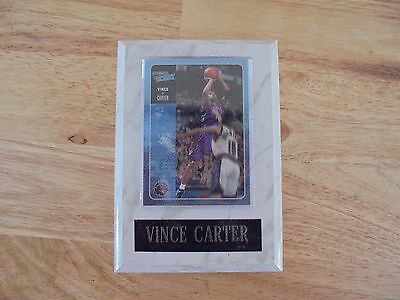 Vintage Toronto Vine Carter Trading Card Plaque with Engraved Name Plate