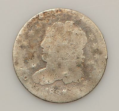 1837 Capped Bust *Large 5 C* Silver Half Dime *G02