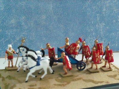 ROMANS and CHARIOT DIORAMA