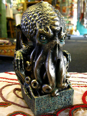 CTHULHU STATUE FIGURE Figurine BUST HP LOVECRAFT GOTHIC Horror OCCULT PAGAN