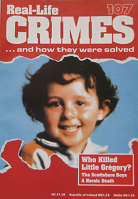 Real-Life Crimes Issue 107 Who Killed little Gregory Villemin?, Scottsboro Boys