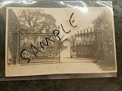 Postcard  The Pastures Derby Walter Bowden Garden entrance Littleover by Simnett