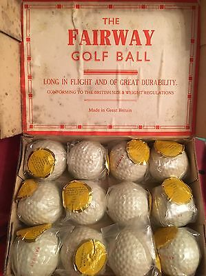 Vintage Wrapped Golf Balls No Reserve Collectors