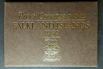 1980 Proof Coinage of the Falkland Islands