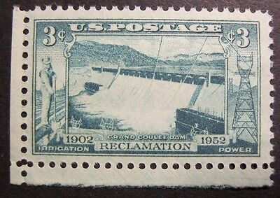 1951 Us Stamp Grand Coulee Dam Reclamation 3 Cent Commemorative Stamp Mnh