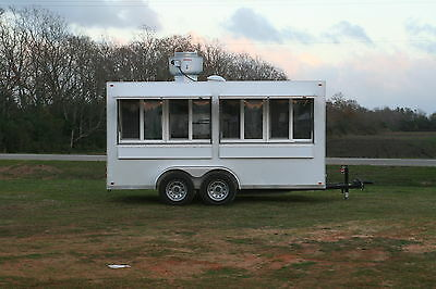 2017 7 x 14 Catering Concession Trailer /  Kitchen