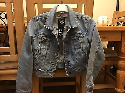 girls denim jacket age 10-11
