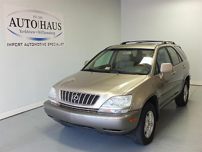 2001 Lexus RX  2001 LEXUS RX300 - LOOKS/RUNS/DRIVES GOOD! LOW RESERVE! CLEAN INSIDE AND OUT!